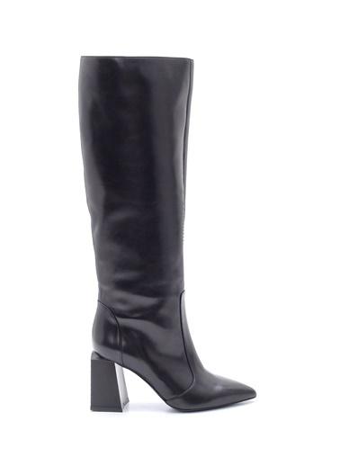 Derimod Kadın Çizme (18603-1) Casual Siyah